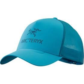 Arc'teryx Logo Trucker Hat, dark firoza